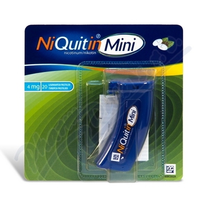 NiQuitin Mini 4mg orm.pas.cmp. 20x4mg