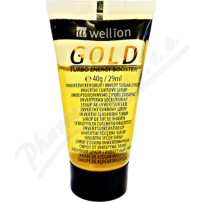 Wellion GOLD tekutý cukr v tubě 40g