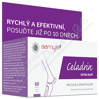 Barnys Celadrin EXTRA SILNÝ cps.60