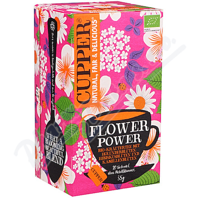 Cupper BIO čaj Flower Power 20 n.s.