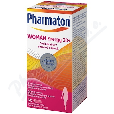 Pharmaton Woman Energy 30+ tbl.30