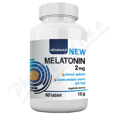 Allnature Melatonin 2mg tbl.60
